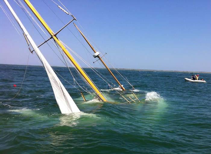 Winnie sunk