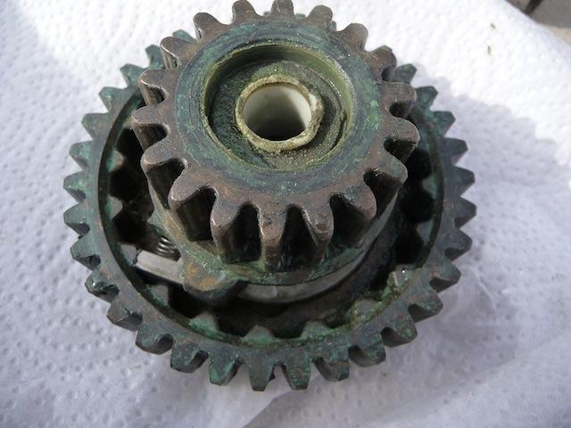 Winch gears
