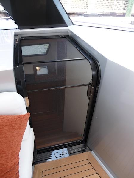 Gunboat 55 hull door