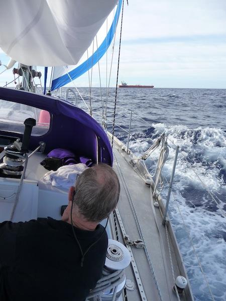 Ship ahead