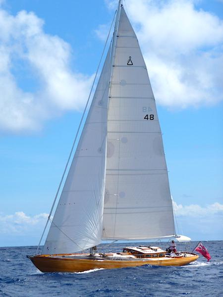 Spirit under sail