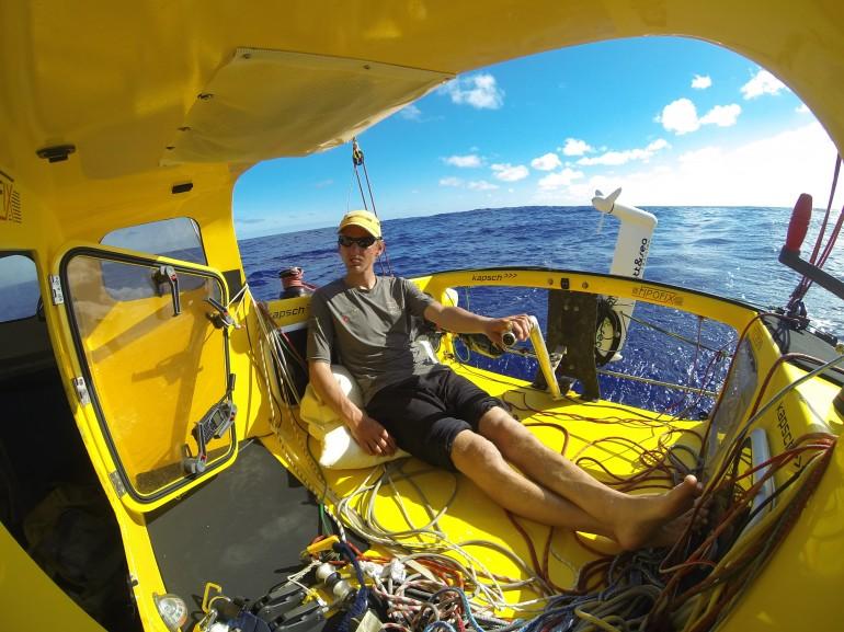 Open 16 cockpit