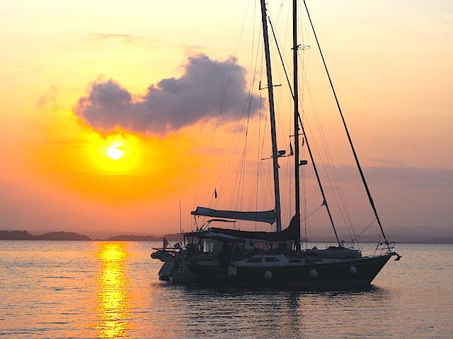 Gatun sunrise