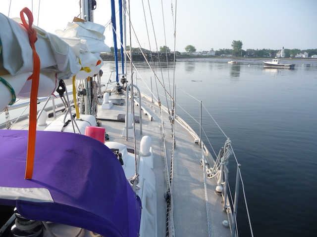 Popham from boat
