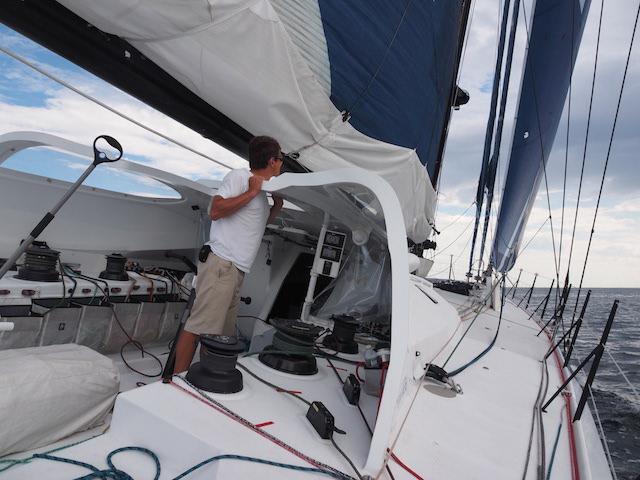 Jon on deck