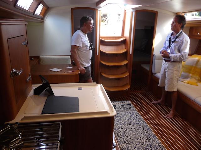 Bermuda 50 interior