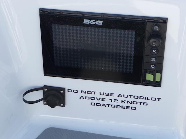 Autopilot warning