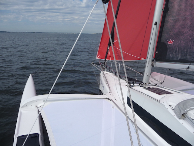 A-sail flying