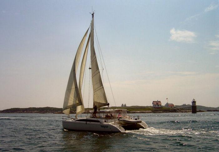 MC41 sailing