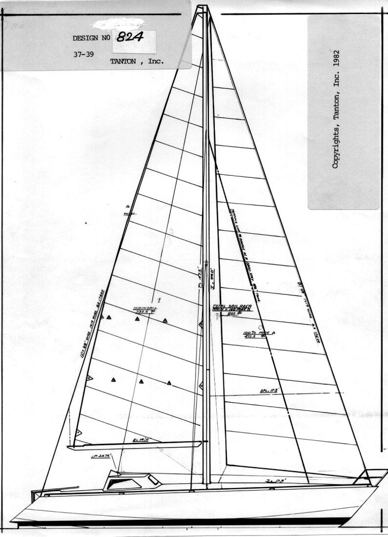 Lunacy sailplan