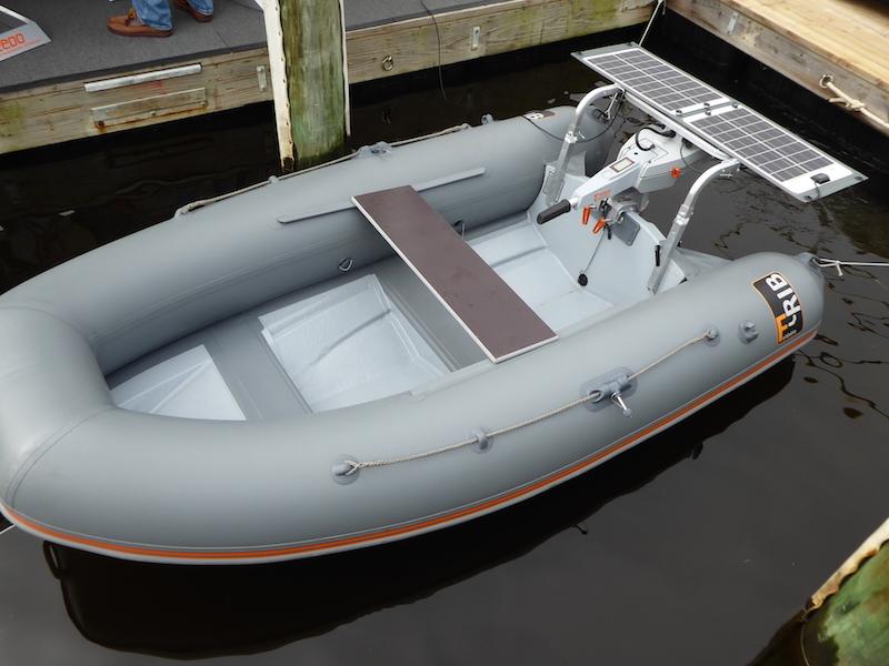 Solar dinghy