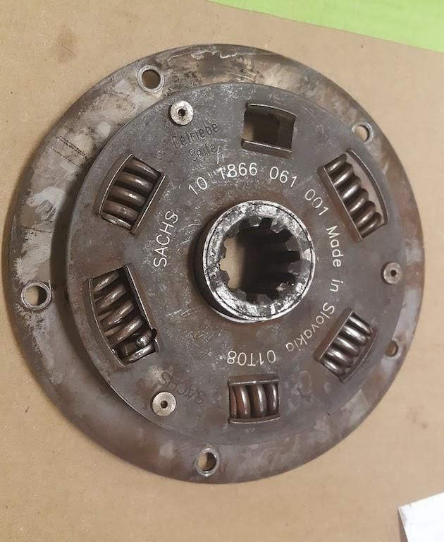 Damper plate 1