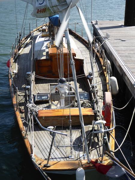 Frank's boat