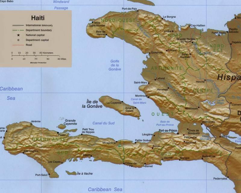 gonave map