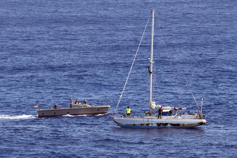 Sea Nymph rig climb