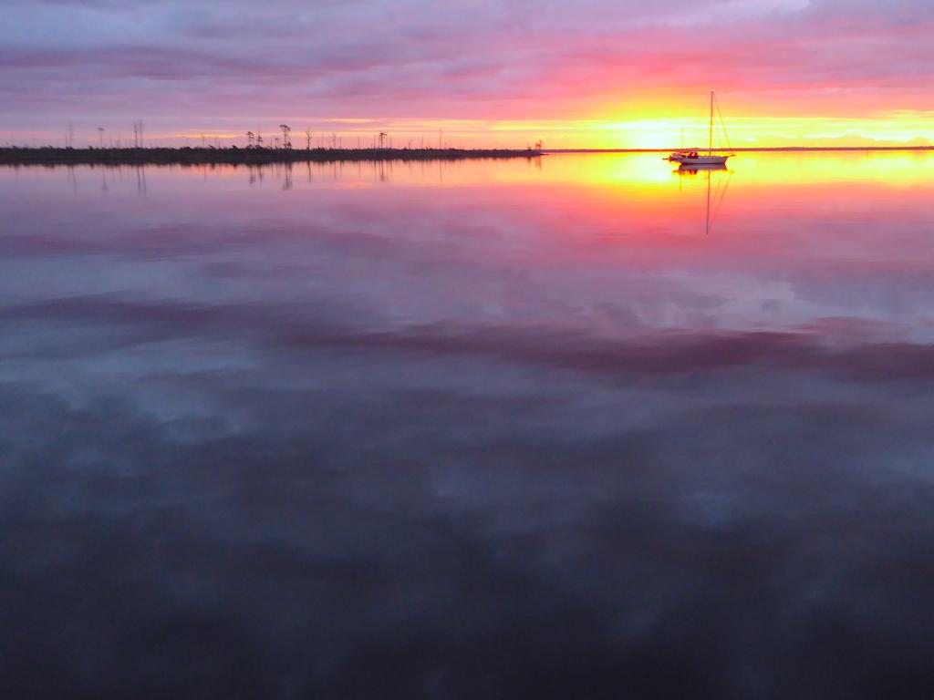 Alligator River sunrise