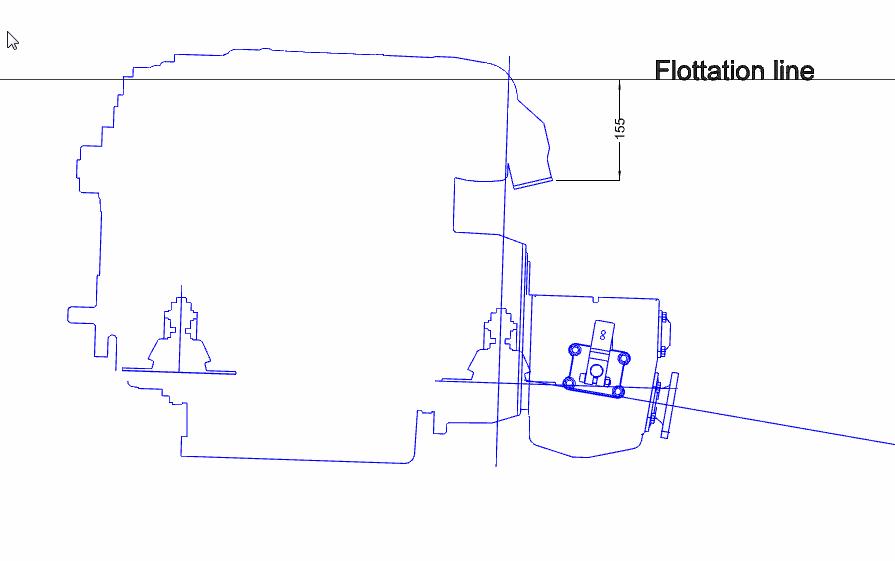 Engine waterline