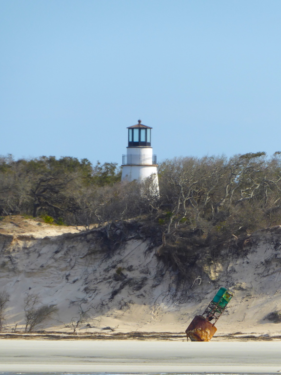Lighthouse and buoy