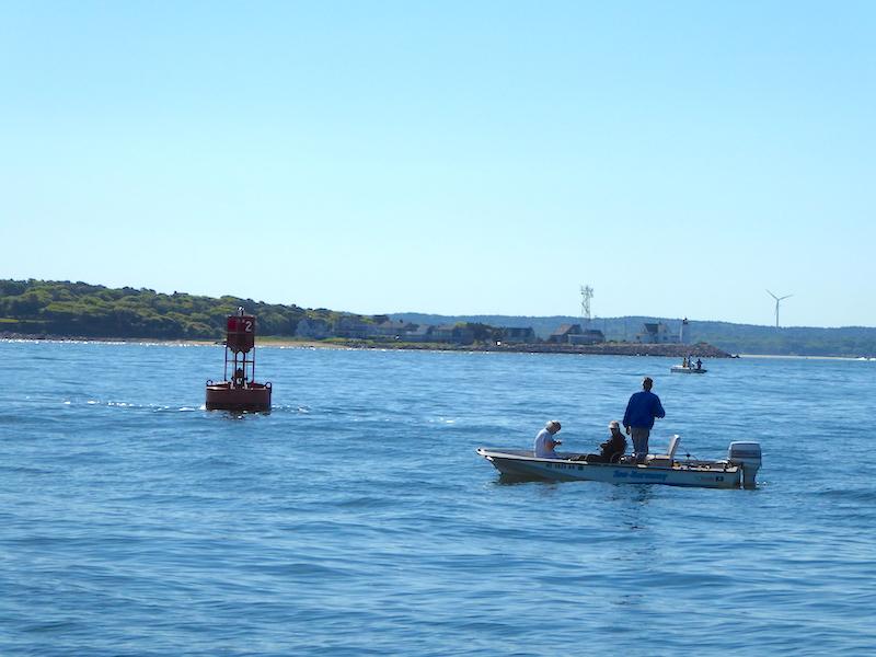 Fishing skiffs