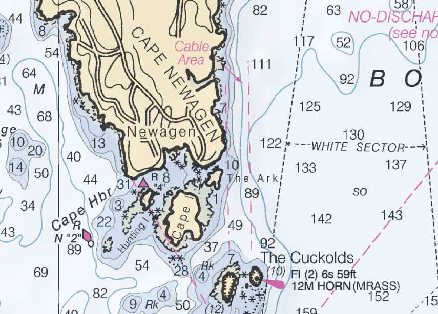 Cape Harbor chart